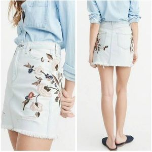 Abercrombie & Fitch Zoe Vintage A-Line Skirt Sz 10